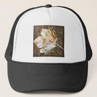 Frosty Leaf Trucker Hat