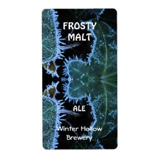 Frosty Malt ~ Beer Label