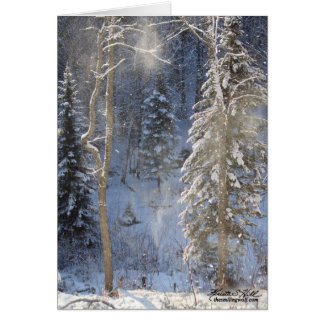 Frosty Morning Card
