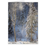 Frosty Morning Greeting Card