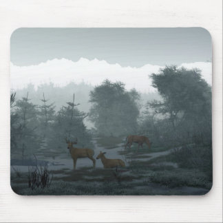 Frosty Morning Mouse Pads