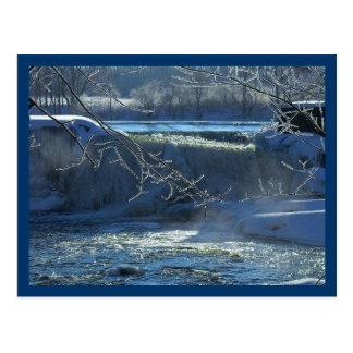 Frosty Morning Postcard
