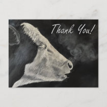 Frosty Morning - Thank You Postcard