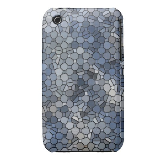 Frosty Mosaic iPhone 3 Case