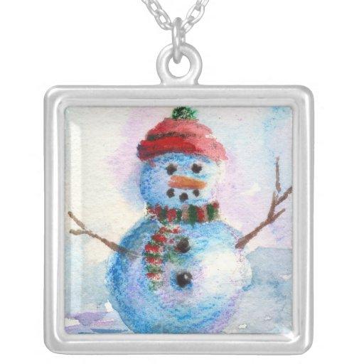 Frosty Necklace