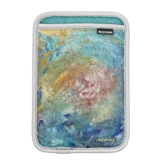 Frosty Ocean Blue Tablet Sleeve iPad Mini Sleeves