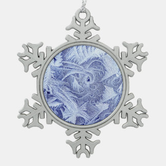 Frosty Pewter Ornament
