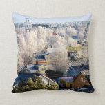 Frosty Rauma Pillows