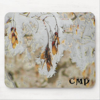 Frosty Seeds Mouse Pad