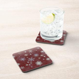 Frosty Snowflake Coasters