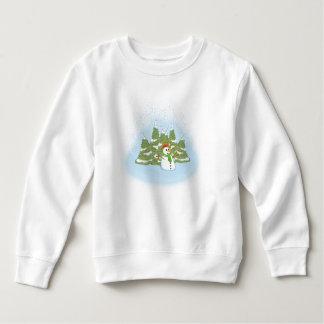 Frosty Snowman Field Sweatshirt