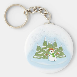 Frosty Sowman Field Keychains