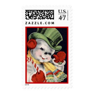 frosty stamp
