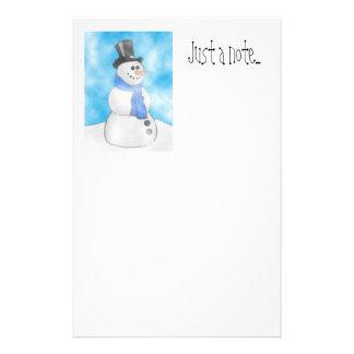 Frosty Stationery