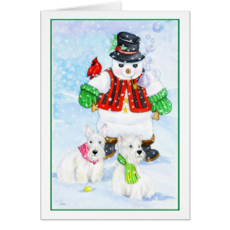 Frosty Terrier Adventures Cards