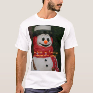 Frosty That Cares T-Shirt
