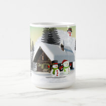 Frosty the Snowman and Friends Christmas Mug