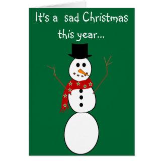 frosty snowman greeting cards zazzle