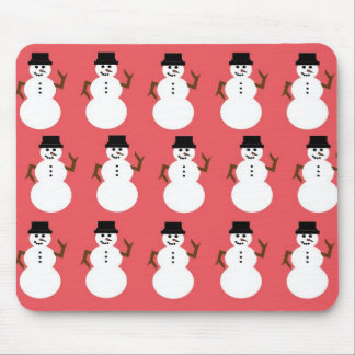 Frosty the Snowman Mouse Pad