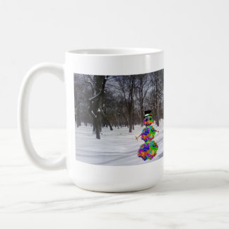 Frosty the Virus in the Snow Coffee Mug