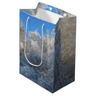 Frosty Trees Medium Gift Bag