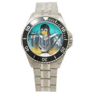 Frosty TUX Watch