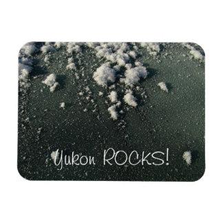 Frosty Window; Yukon Territory Souvenir Magnet