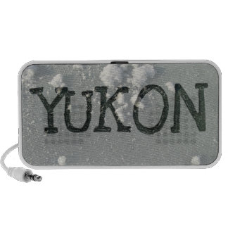 Frosty Window; Yukon Territory Souvenir Speaker System