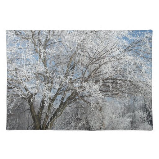 frostyliltree.jpg cloth placemat