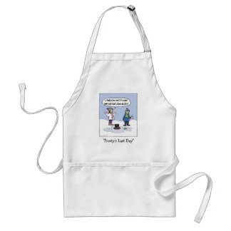 """Frosty's Last Day"" Adult Apron"