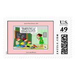 Frosty's Summer Vacation Christmas Postage Stamps Postage Stamp