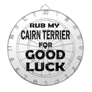 Frote mi mojón Terrier para la buena suerte