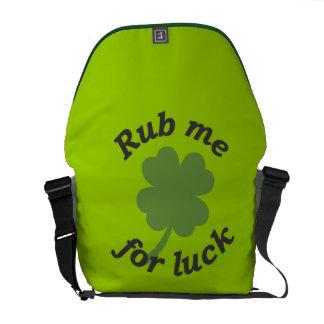 Fróteme para la bolsa de mensajero de la suerte bolsas de mensajería