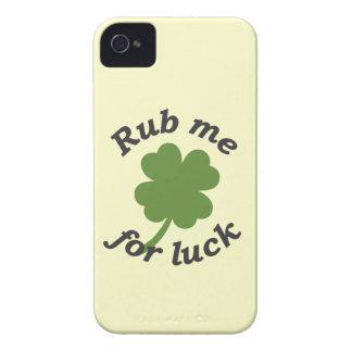 Fróteme para la suerte Case-Mate iPhone 4 carcasa