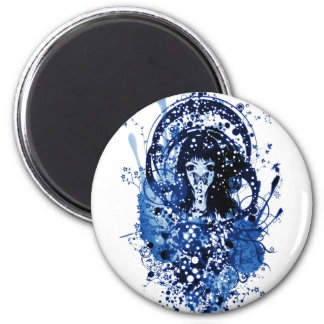 Froth on the Daydream 2 Inch Round Magnet