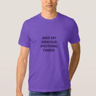 frothing fangs t-shirt