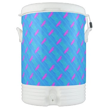 Beach Themed Frothing Neon Cooler