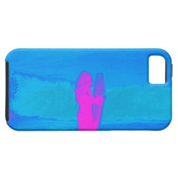 Beach Themed Frothing Neon iPhone SE/5/5s Case