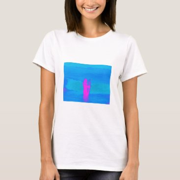 Beach Themed Frothing Neon T-Shirt