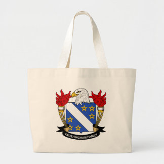 Frothingham Family Crest Canvas Bags