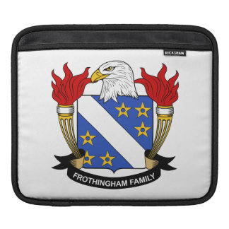 Frothingham Family Crest iPad Sleeve