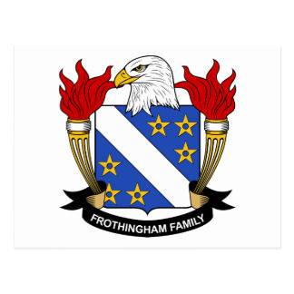 Frothingham Family Crest Postcard