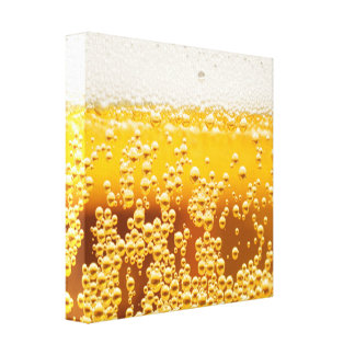 Frothy Beer Canvas Print