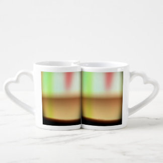 Frothy Cappuccino Coffee Abstract Coffee Mug Set