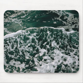 Frothy, foamy sea water mouse pad