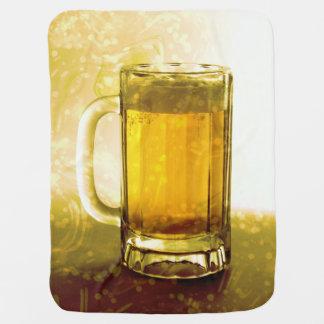 Frothy Mug Of Beer Stroller Blanket