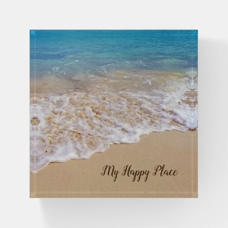 Frothy Ocean Surf Paperweight