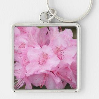 Frothy Pink Azalea Keychain