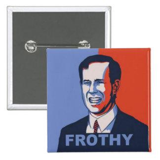 Frothy Santorum Button
