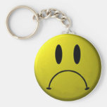 Frown Face Keychain